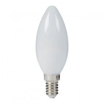 Żarówka Tradycyjna świeczka B35 230V E14 60W matowa